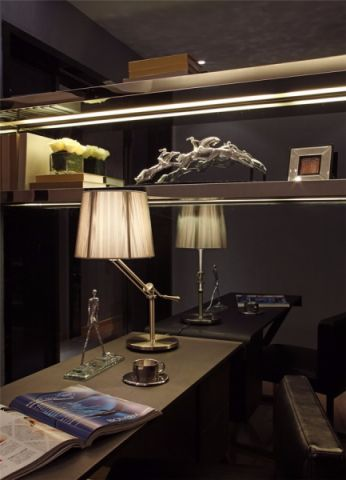 书房细节现代简约风格装饰图片