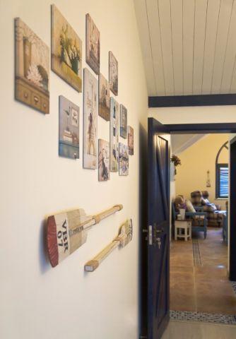 玄关照片墙地中海风格装潢图片