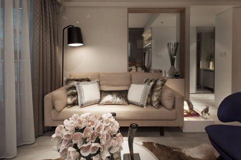 客厅沙发现代简约风格装修设计图片