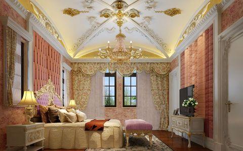 卧室窗台法式风格装饰设计图片