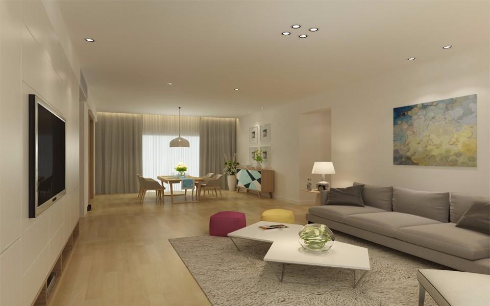 4室2卫2厅220平米现代简约风格