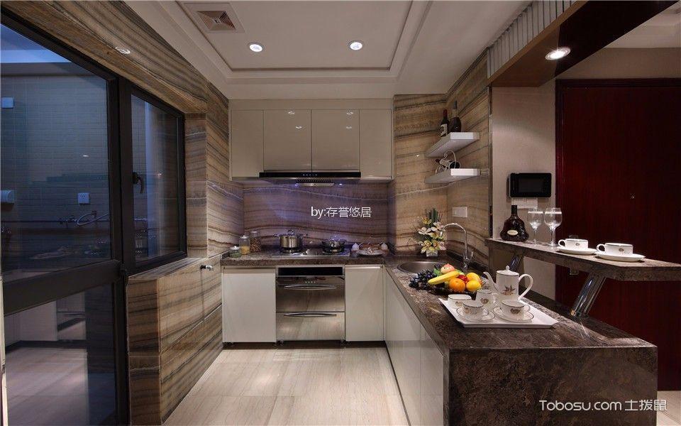 厨房 吊顶_常发香堤半岛160平方现代简约风格装修效果图