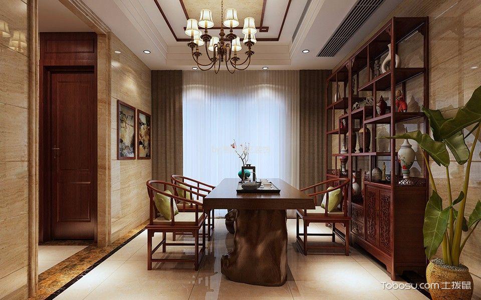惠州帝景湾280平米新古典风格效果图