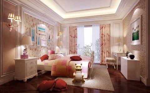 儿童房窗帘欧式风格效果图