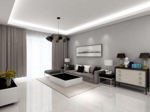 客厅沙发现代简约风格装饰图片