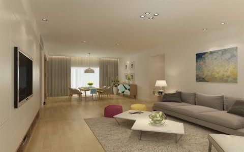 18万预算200平米四室两厅装修效果图