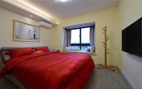 卧室飘窗简约风格装饰图片