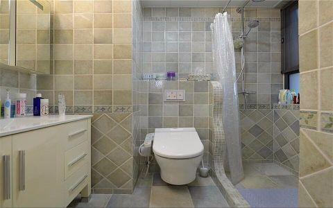 卫生间隔断简约风格装修设计图片