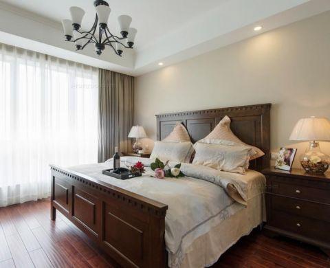 5.5万预算120平米三室两厅装修效果图