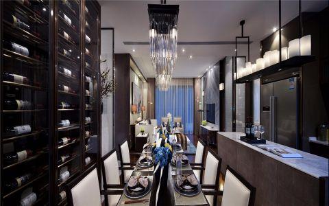 餐厅细节现代简约风格装潢设计图片