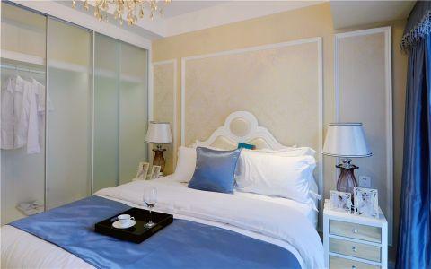 卧室推拉门现代简约风格装潢图片