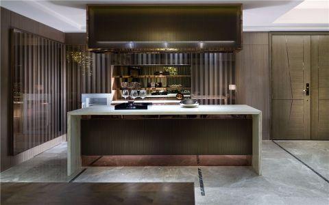 餐厅吧台现代简约风格装修设计图片