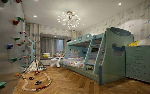 儿童房吊顶简约风格装饰图片