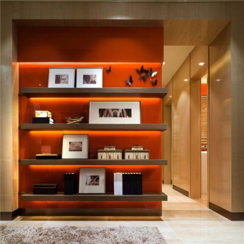 客厅博古架现代简约风格装修效果图