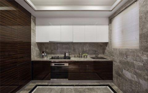 厨房吊顶现代简约风格装潢效果图
