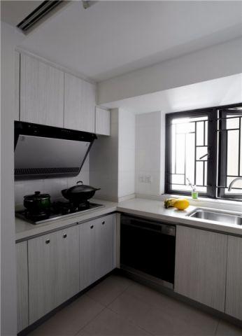 厨房窗台现代简约风格装饰设计图片