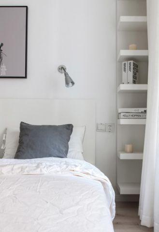 卧室细节北欧风格装饰图片