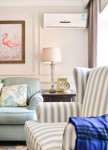 客厅细节美式风格效果图