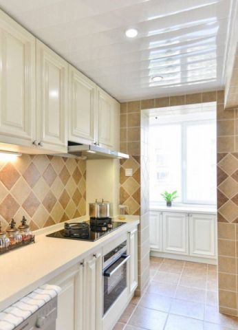 厨房吊顶美式风格装饰图片