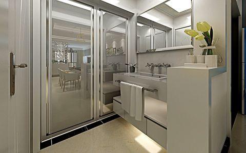 卫生间吊顶现代简约风格装修效果图