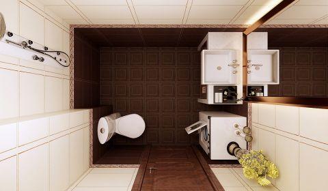 卫生间地砖现代风格装修效果图