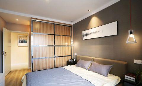 卧室衣柜简约风格装修设计图片