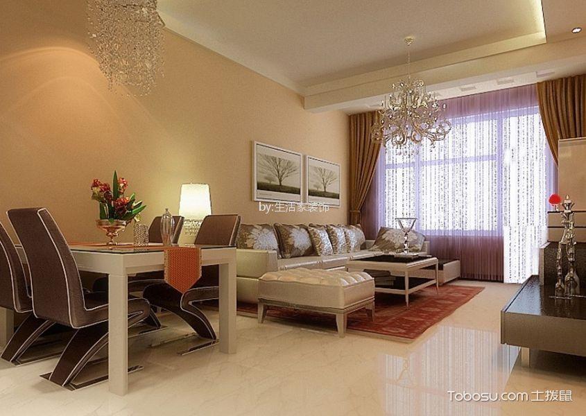 恒大绿洲177平现代简约风格四居室装修效果图