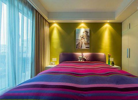 卧室照片墙简约风格装饰图片