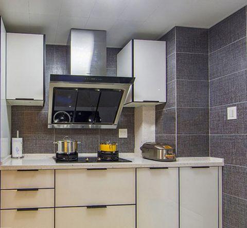 厨房吊顶简约风格装修设计图片