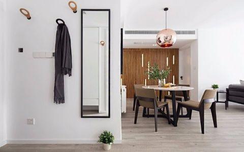 朗诗青春街区83平现代简约二居室装修效果图