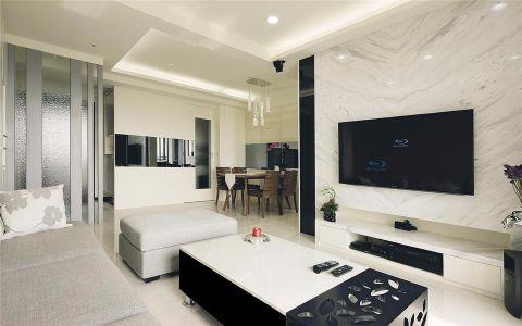 7万预算110平米两室两厅装修效果图