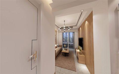 客厅推拉门现代简约风格装饰效果图