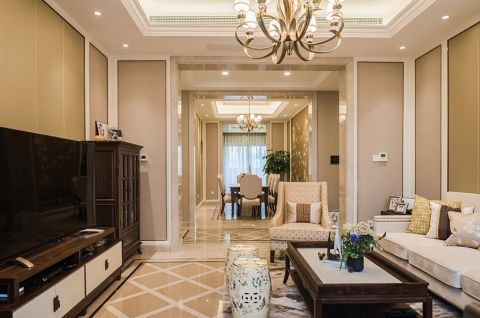 9万预算200平米四室两厅装修效果图