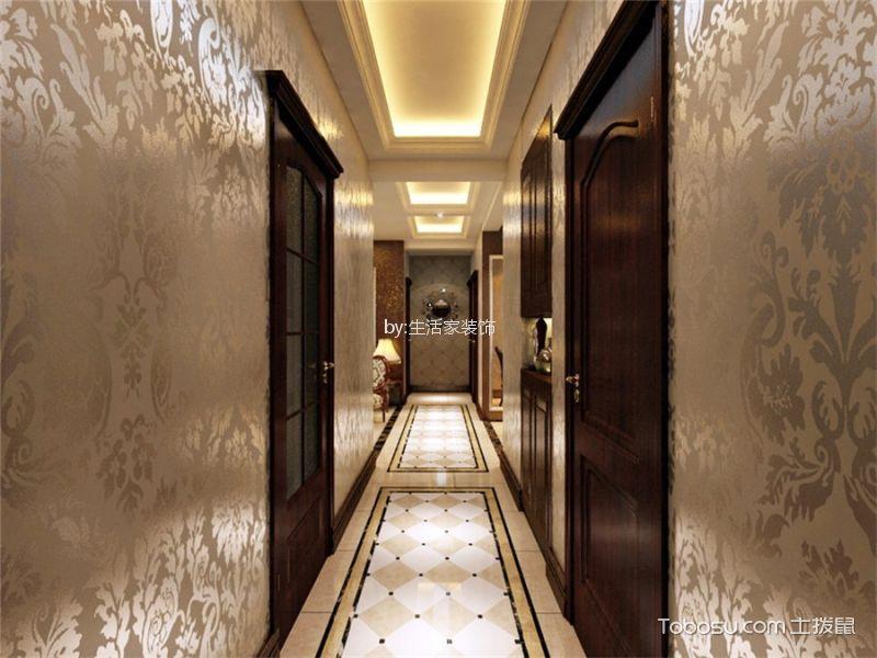 玄关 走廊_19万预算113平米套房装修效果图