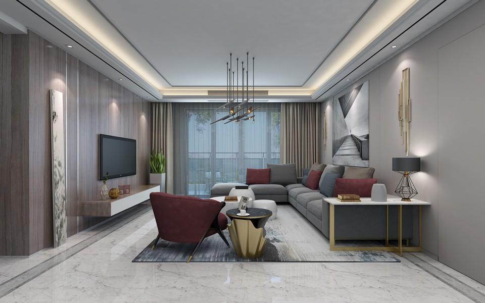 4室2卫2厅180平米现代简约风格