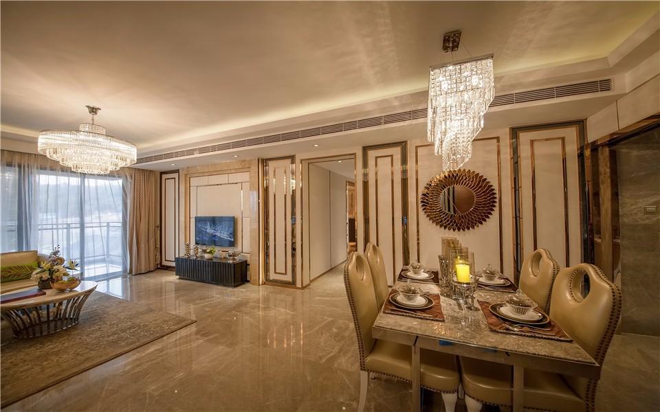 2室1卫2厅现代欧式风格