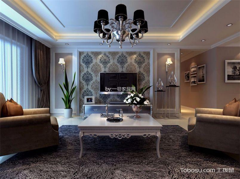 17万预算150平米三室两厅装修效果图