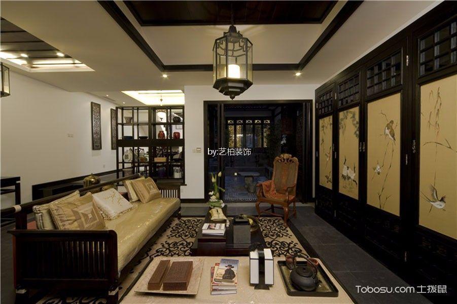 148平米中式风格四室两厅装修效果图