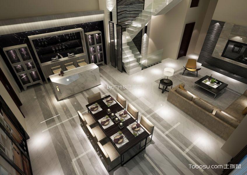 广州南沙奥园600平米现代风格效果图