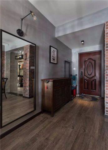 怡景花园75平现代工业风二居室装修效果图