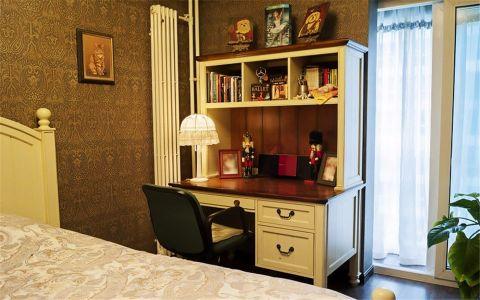 卧室推拉门美式风格装修图片