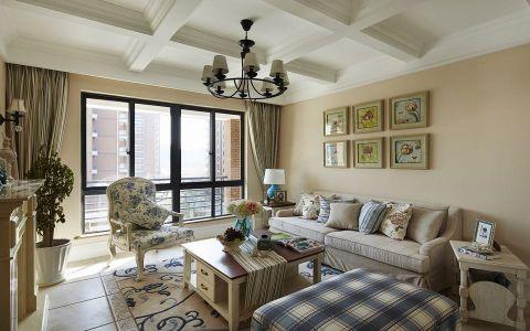 18.6万预算120平米三室两厅装修效果图