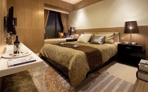 16.6万预算160平米三室两厅装修效果图