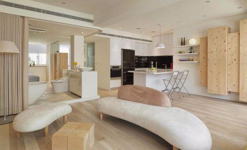 客厅沙发现代简约风格装潢图片