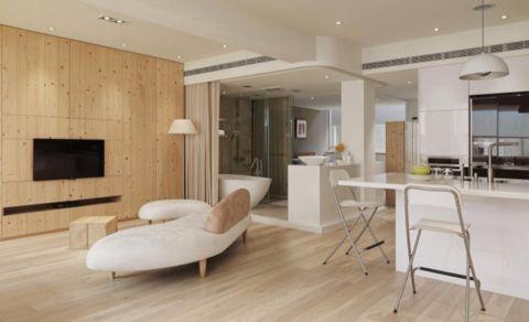 厨房厨房岛台现代简约风格装饰设计图片