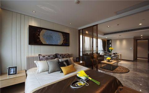 卧室吊顶现代简约风格装修设计图片