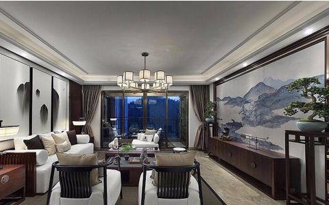 30万预算130平米三室两厅装修效果图