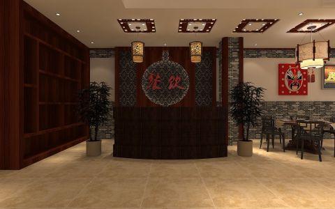 云新大道10号亿口香小龙虾390平中式风格装修效果图