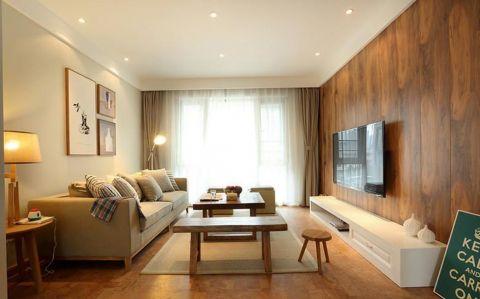 弘阳广场90平简约风格三居室装修效果图