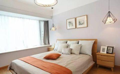 卧室背景墙简约风格装饰图片